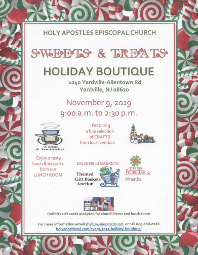 Holiday Boutique - November 9, 2019